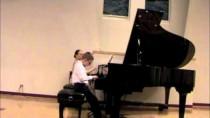 Matthieu Foresi plays Concertino in a minor by Polunin. Wonder-child Showcase Concert 2013