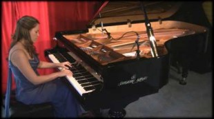 "Amy Janelle performs ""Sing Me Awake (Hailey's Song)"" at Piano Haven Studio – Shigeru Kawai SK7"
