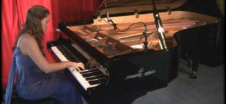 "Amy Janelle performs ""Elder Tree"" at Piano Haven Studio – Shigeru Kawai SK7"