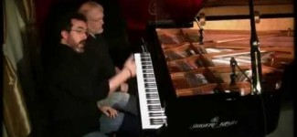 "David Nevue & Neil Patton – ""Clockwork"" – Performed at Piano Haven on a Shigeru Kawai SK7L"