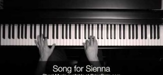 Brian Crain – Song for Sienna (Overhead Camera)