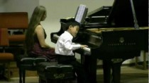 Wonder-Child Concert 2010. Kevin Weng, 8 years old,  playing Concerto-Variations by Tanya Shevtsova