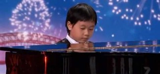 "Shuan Hern Lee ""Flight of the Bumblebee"" Child Piano Prodigy on Australia's Got Talent 2010"