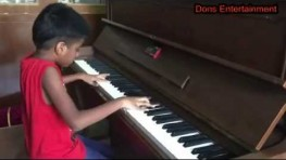 Indian Kid Playing Piano Like a Master