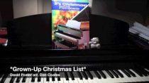 """Grown-Up Christmas List"" (David Foster arr. Dan Coates) – solo piano [HD]"