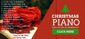 """Christmas Piano"" (full album) by Isaac Shepard – 38 Minutes of Peaceful Solo Piano Christmas Music"