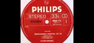 Haydn, Piano Sonata No 20, Alfred Brendel