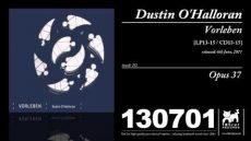 Dustin O'Halloran – Opus 37 (Vorleben)